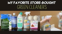 My Favorite Store-Bought Green Cleaners