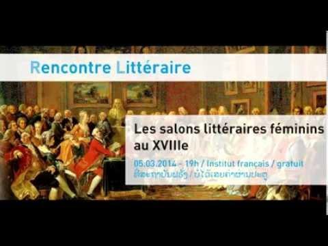 Les salons littéraires féminins au XVIIIe