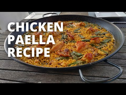 How To Make Chicken Paella // Recipe for Paella