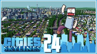 Cities Skylines - Ep.24 : Unlocked The Whole Map!