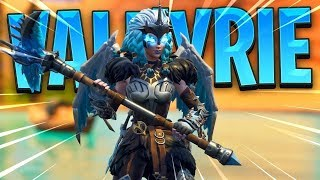 VICTORY WITH THE NEW SKIN VALQUIRIA FORTNITE MLT SHORT DISTANCES