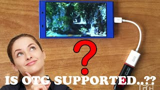 How to check OTG support in any android device | check otg support in any android in just one touch|
