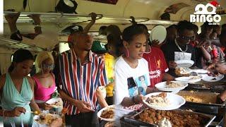 Diamond na Tanasha Wazua Gumzo Kwenye  Chakula ndani ya Treni Miaka10/DulaMakabila Ajaza Pilipili