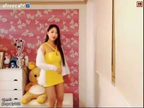 20150430 BJ Ming Ming 밍밍 아프리카 댄스 Asian Girl Dancing Kpop 1