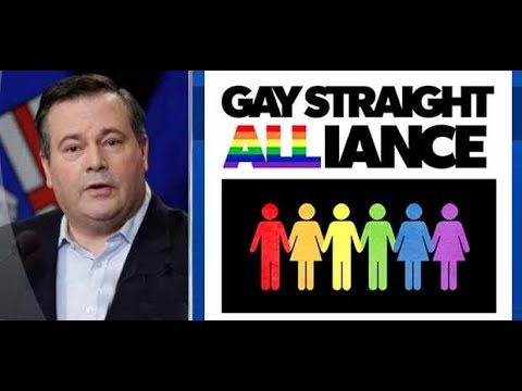 Jason Kenney - UCP Party To Oppose GSA Bill 24   Gay-Straight Alliances