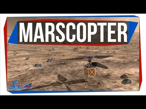NASA Might Send a Helicopter to Mars