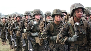 Female Marines Ready for Combat? Women Recruits Training at MCRD Parris Island