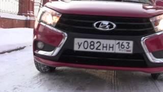 Тест-драйв Lada Vesta