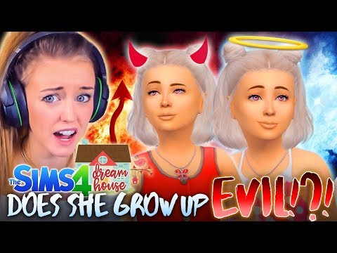 LILITH GROWS UP! 👧🏼 But is she good or evil...? 😈(The Sims 4 #54!🏡)
