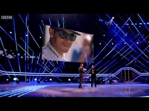Lewis Hamilton - BBC SPOTY Intro and Interview (Sports Personality Of The Year 2014)
