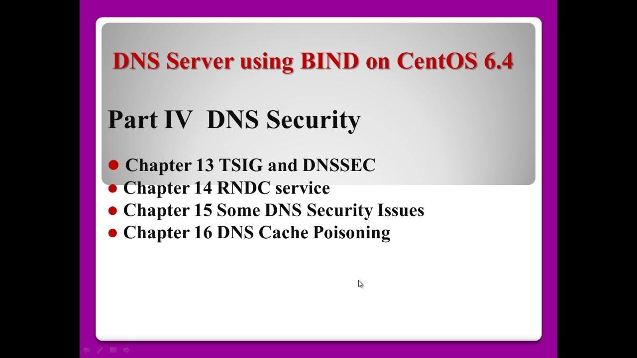 DNS Server using BIND on CentOS 6 4 - part 4/5