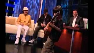 Young Kid  plays SAMBA PATI while Carlos Santana is watching  -  LUCCIANO PIZZICHINI