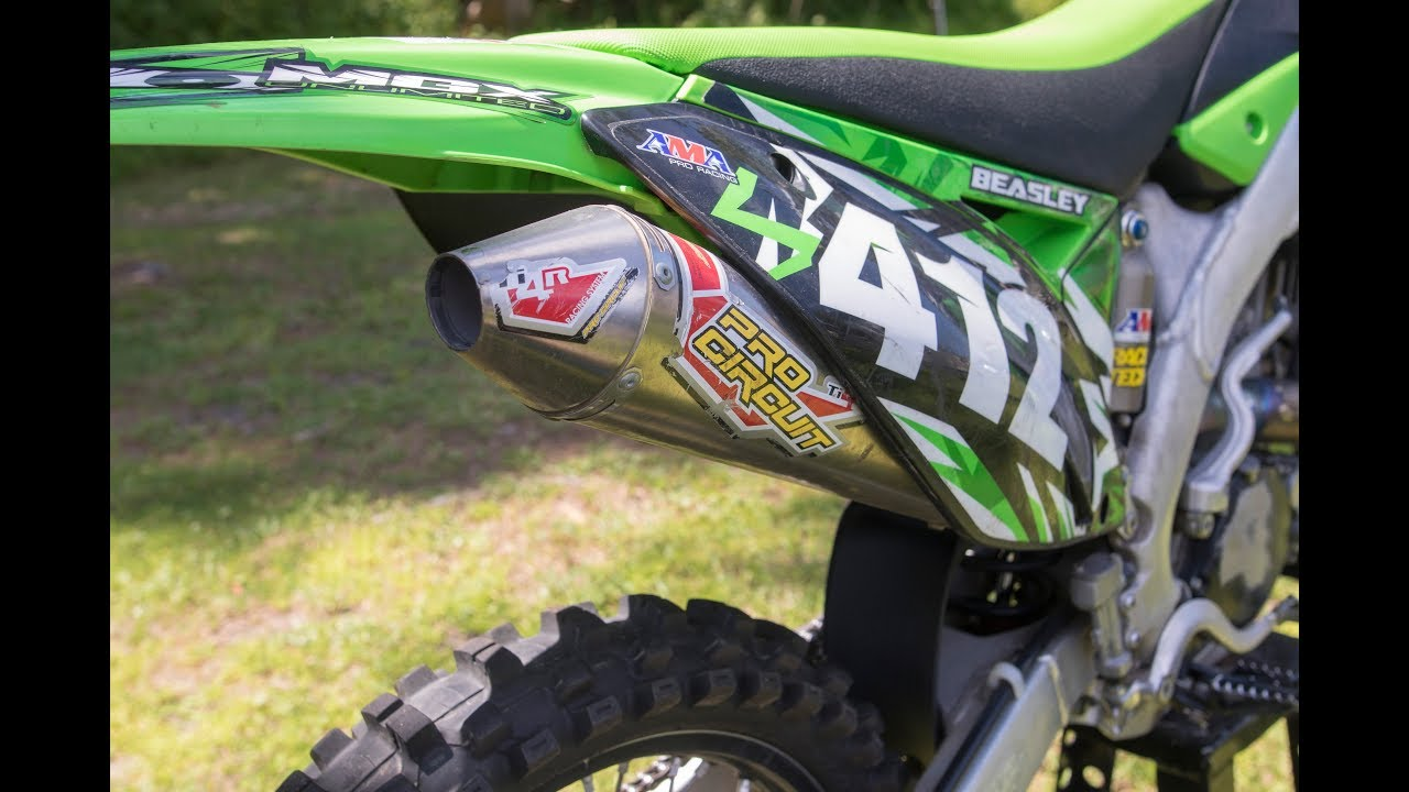 kx250f exhaust full pro circuit ti 4