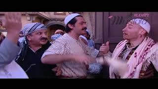 النمس يُقلّد أبو حاتم ، بعد خناقة بيناتهم ، مسلسل باب الحارة  الحلقة 01 مشهد3 مصطفى الخاني