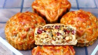 MOONCAKE Recipe - Bánh Trung Thu (Bánh Nướng)
