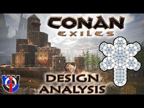 Conan Exiles Castle Vanburg tour and analysis