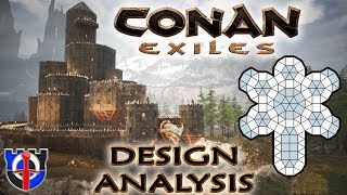 Conan Exiles Castle Vanburg tour and analysis
