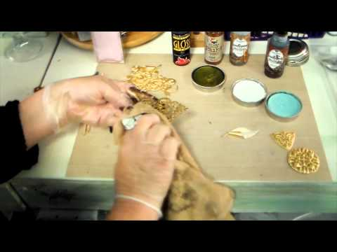 Easy Color On Goldplated Stampings for Jewelry Designers, from B'sue