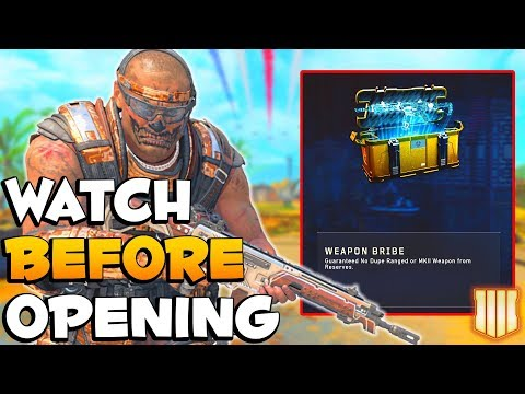 Biggest Mistake To Open Weapon Bribe | CoD BO4 Days Of Summer
