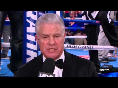 HBO sportscasteranalyst, Jim Lampley emotional as he talks about Manny Pacquiao