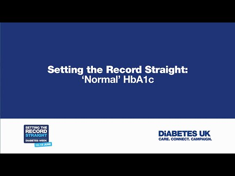 'Normal' HbA1c - setting the record straight | Diabetes UK