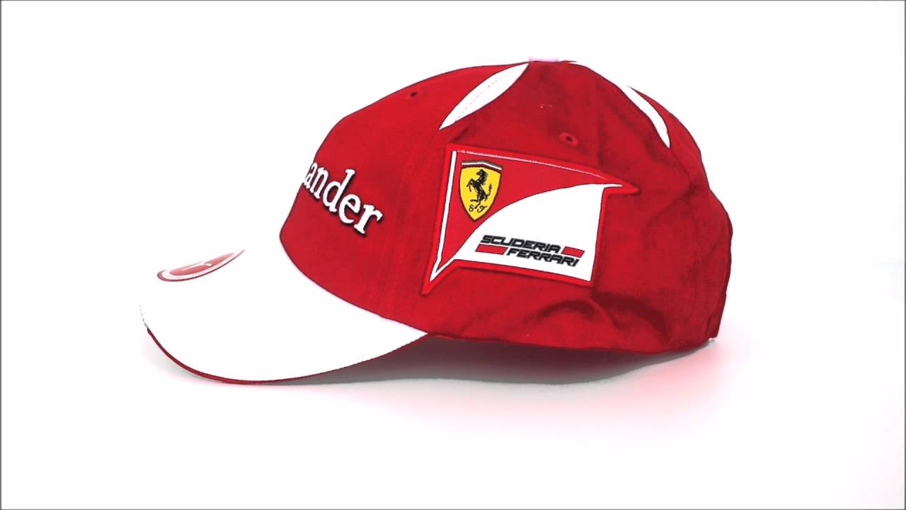 Gorra Scuderia Ferrari Oficial 2016 - YouTube d4e407a9475