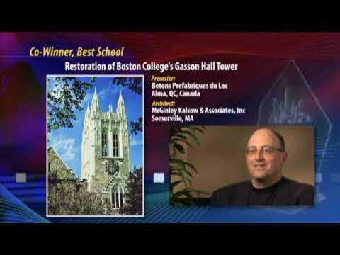 Best School Cowinner - Gasson Hall, Chestnut Hill, Mass.