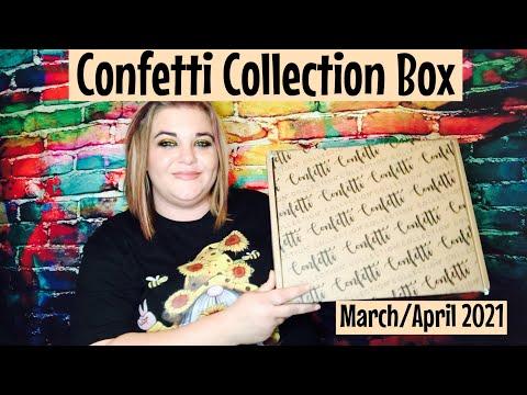March-April Confetti Collection