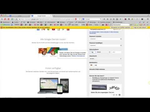 Ein Google Konto Anlegen Und Wieder Löschen