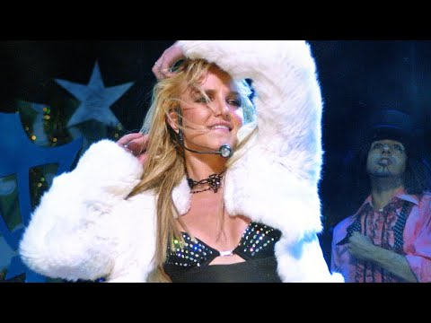 Britney Spears - Killing the I'm a Slave 4 U 'Light Your Ass On Fire' Dance Break (2003) thumbnail