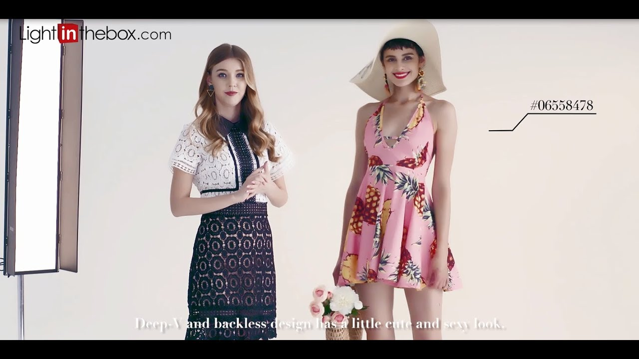[VIDEO] – Summer Fashion lookbook: outfit Ideas – What to Wear When You Have Nothing to Wear!︱Lightinthebox