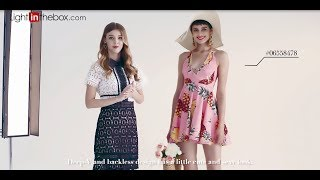 Summer Fashion lookbook: outfit Ideas - What to Wear When You Have Nothing to Wear!︱Lightinthebox