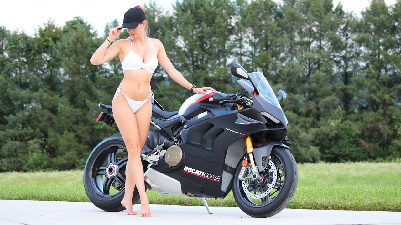 Breaking In My Panigale V4 SP with My Girlfriend!!!