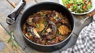 Miel aromat la cuptor, o super friptura cu ierburi aromate (CC Eng Sub) | JamilaCuisine