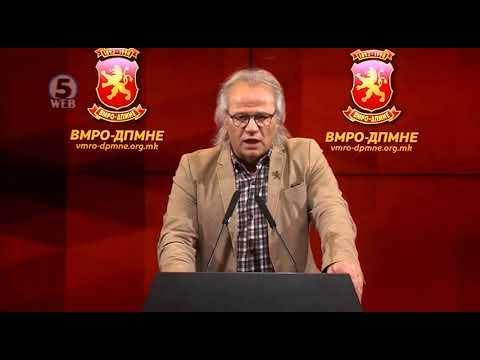 ВМРО-ДПМНЕ: Притворот на Едмонд Темелко е злосторство со умисла