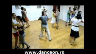 Curs de dansuri populare romanesti. Invartita din Ardeal.