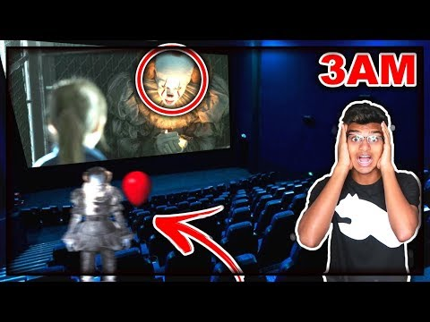 DO NOT WATCH IT CHAPTER 2 MOVIE AT 3AM!! *THIS IS WHY* OMG PENNYWISE CAME TO MY HOUSE!!