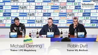 FCM: PK nach dem Spiel gegen Bochum