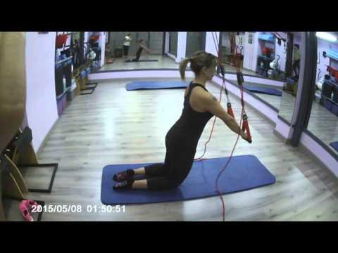"Pilates con Go Pro (Plancha en Red Cord) ""Pilates Samsara"""