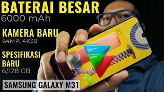 Tetap Irit, Kamera Makin Keren: Samsung Galaxy M31