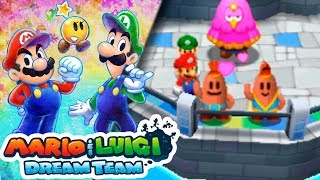 #16 VAMO´ A LA PLAYA! | Mario & Luigi Dream Team | ESPAÑOL - Red Shock