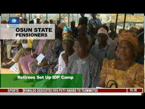 Osun State Pensioners: Retirees Set Up IDP Camp