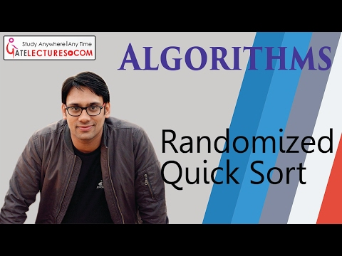 Randomized Quick Sort   Algorithm Design & Analysis