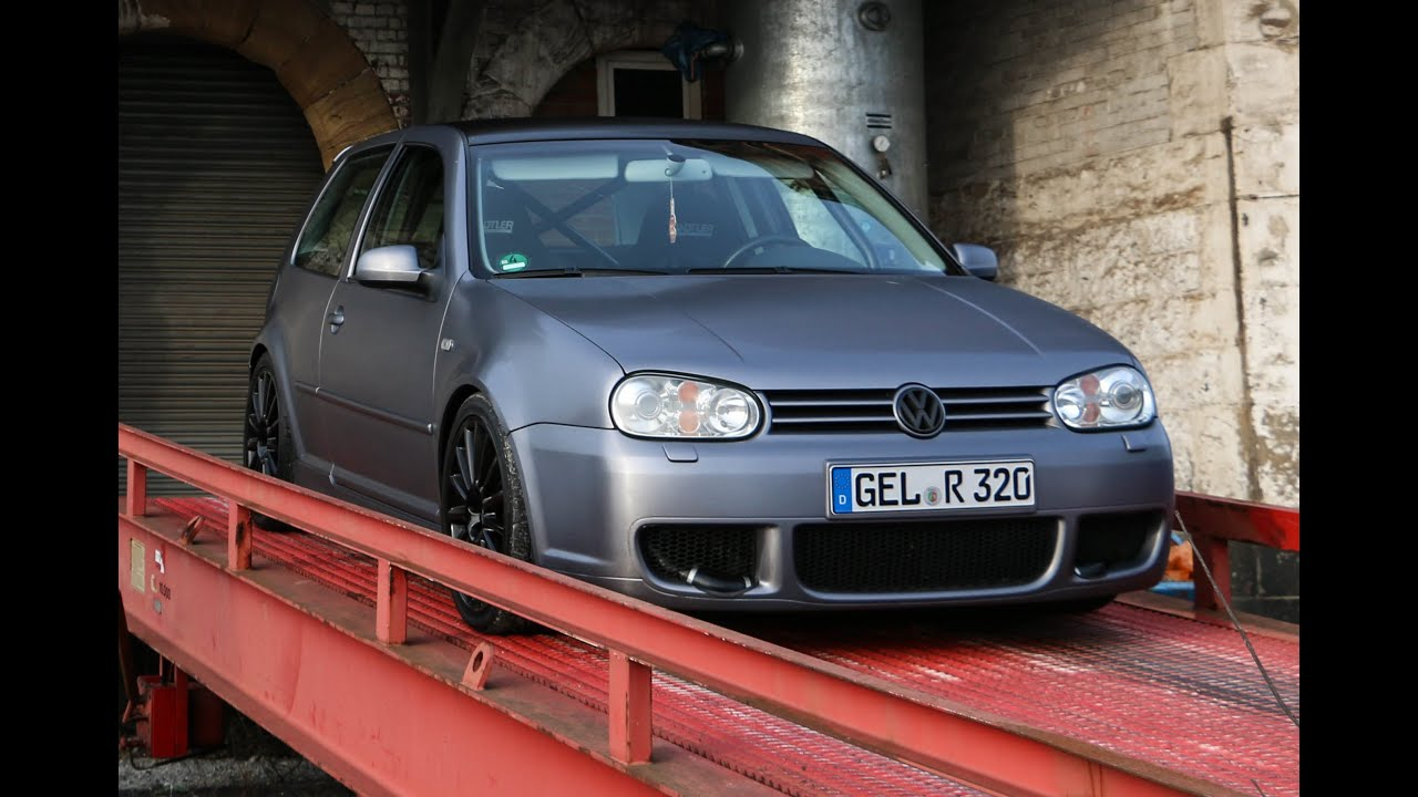 vw golf 4 r32 turbo sound exhaust acceleration youtube. Black Bedroom Furniture Sets. Home Design Ideas