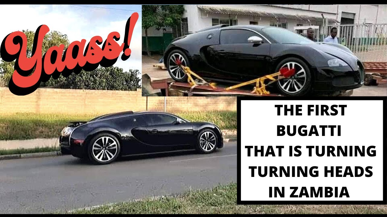 BUGATTI VEYRON MAKES HEADLINES IN ZAMBIA! CHECK THIS! - YouTube