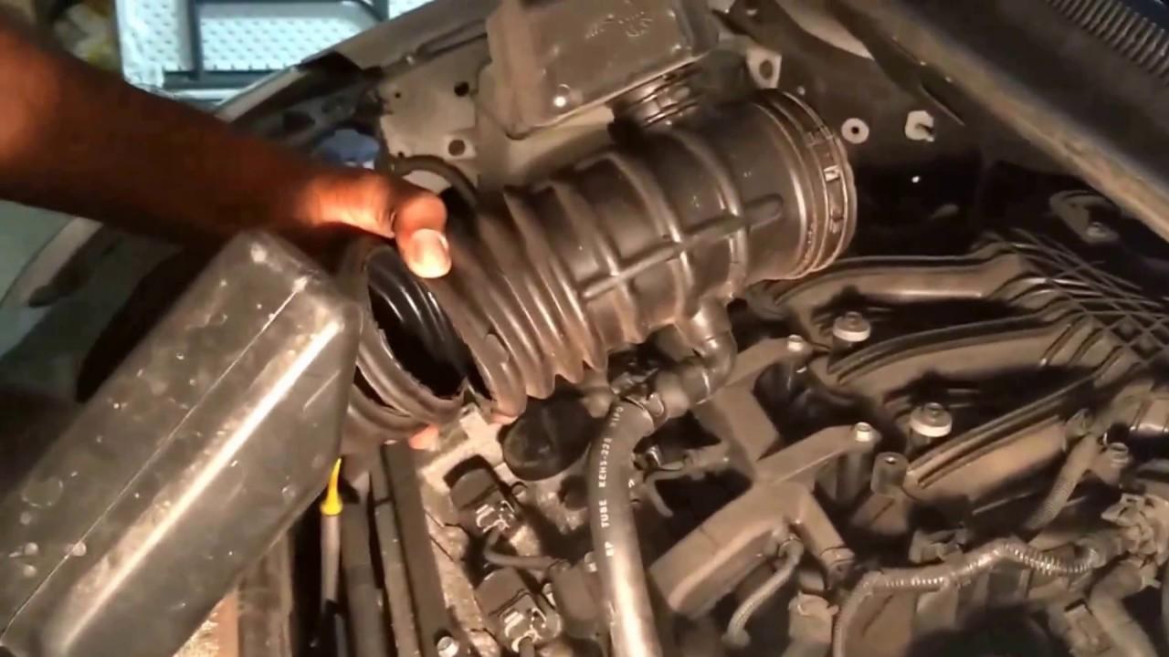 kia sedona check engine light diy fix odb codes p0171 p0174 p2167 p2187 hyundai entourage [ 1280 x 720 Pixel ]