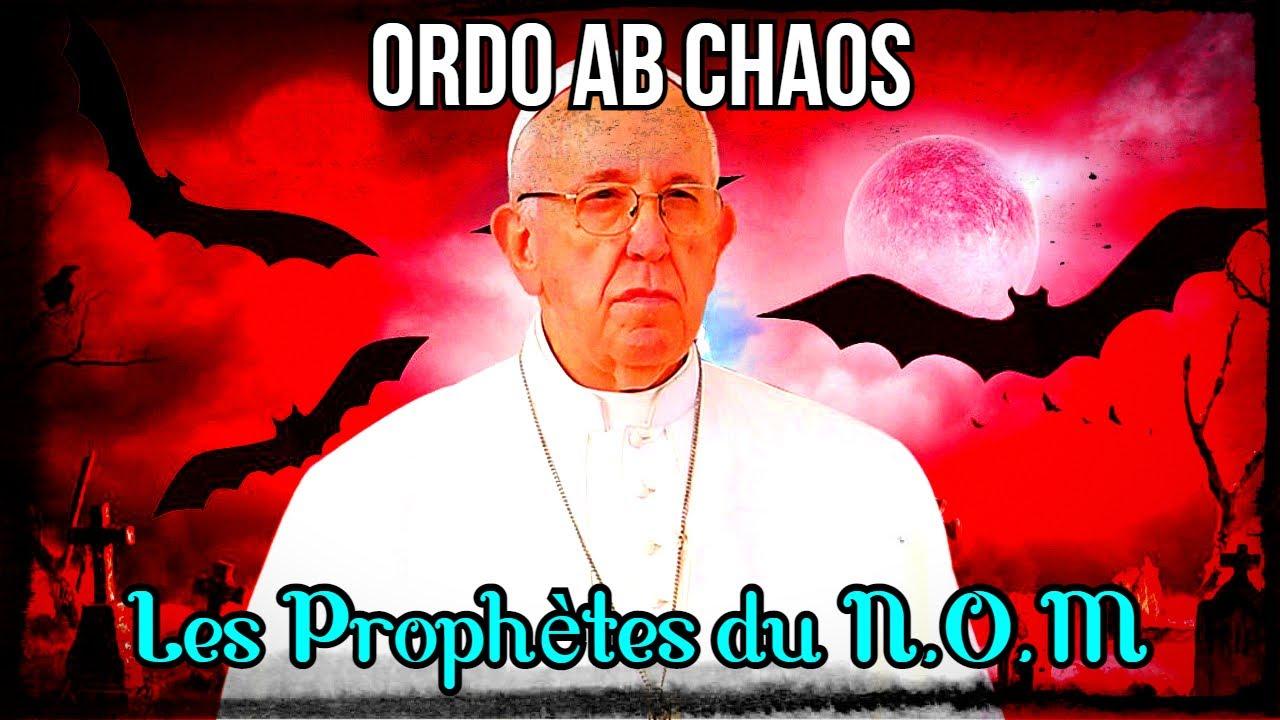 Ordo Ab Chao : Jacques Attali, Pape François, Kissinger, les prophètes du N.O.M – RDP 16/04/21
