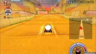 カートライダー デザート ピラミッドパス走ってみた。