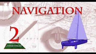 Carte marine 2 : Le nord, le compas, les routes, navigation et croisière à la voile.