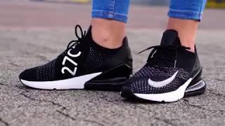 On Feet: Nike Air Max 270 Flyknit Black | 99Kicks